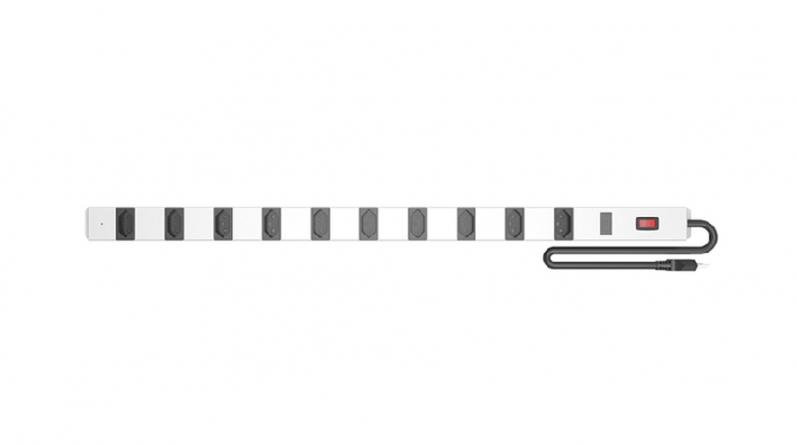 Régua de Tomadas para Rack com Disjuntor Itatiba - Régua de Tomadas 32 Amperes