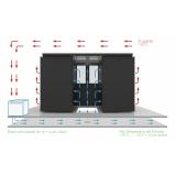 confinamento contenção térmica para data center São José do Rio Preto