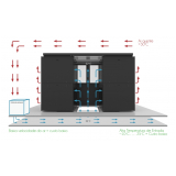 confinamento eficiência térmica para data center Centro