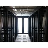 confinamento corredor térmico para data center