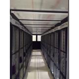 confinamentos térmicos para data center com teto basculante Santana