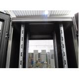 empresa de rack data center estrutura aluminio Pilares