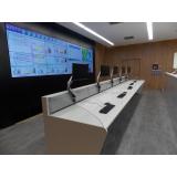 mobiliário técnico para centro de controle Vila Endres