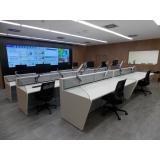 mobiliário técnico para monitoramento Embu