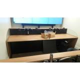 mobiliário técnico salas de controle preços Araraquara