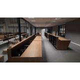 mobiliários técnicos salas de controle Pirituba