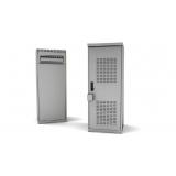 orçamento para gabinete outdoor de aluminio Santana de Parnaíba