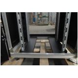 rack data center estrutura aluminio Parque do Chaves