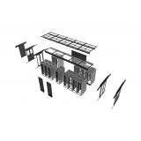 venda de confinamento térmico data center com teto retrátil Liberdade